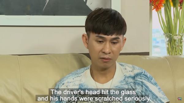 Châu Gia Kiệt kể về tai nạn: Sợ trễ giờ diễn nên hối tài xế phòng nhanh, xe lao vào nhà dân