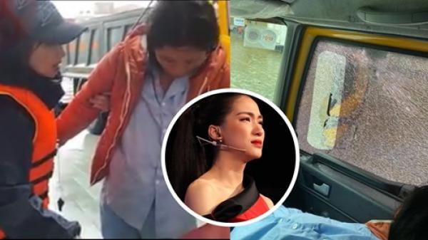 Xe chở thai phụ đi cấp cứu bị người dân ném đá vỡ kính, Hòa Minzy cấp tốc lên trang cá nhân thông báo và mong mọi người bình tĩnh