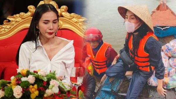 Xin trích quỹ miền Trung cho người Việt ở Nhật, Thủy Tiên gây tranh cãi: Tiền nào việc đó