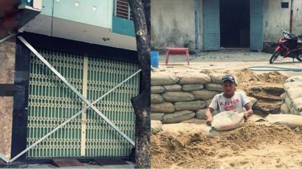 Đối mặt với bão số 9, người dân miền Trung hết đào hầm trú ẩn lại đóng cọc kín cửa nhà