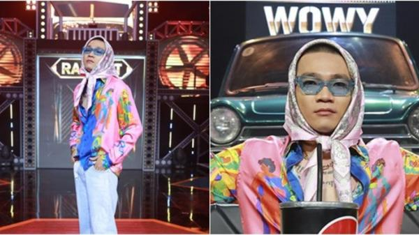 """Trọn bộ trang phục Chung kết Rap Việt: Wowy nổi bần bật với style """"bà ngoại""""!"""