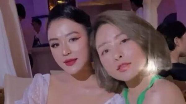 Bạn cũ của Huỳnh Anh đọ sắc với Trâm Anh, không biết quen thế nào nhưng caption thân thiết quá