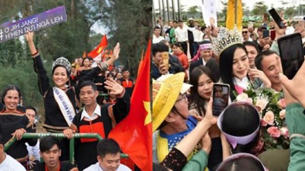 Hoa hậu Việt Nam Đỗ Thị Hà, H'hen Niê: 2 nhan sắc được người quê yêu mến