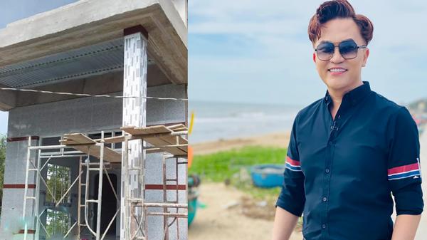 MC Đại Nghĩa mừng sinh nhật tuổi 42 bằng việc bỏ tiền túi xây dựng nhà tình thương cho người nghèo