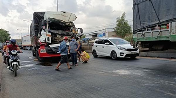 Bình Thuận: Vụ xe container rời khỏi hiện trường sau va chạm giao thông: Tài xế xe container đã đến trình diện