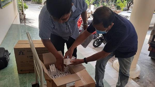 6.700 liều vắc xin phòng Covid-19 về đến Bình Thuận