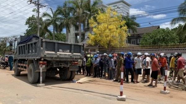 Bình Thuận: Nữ sinh con nhà nghèo bị xe ben tông tử vong trên đường đi học về