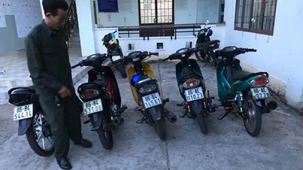 Bình Thuận: Bắt quả tang 7 đối tượng đua xe trái phép