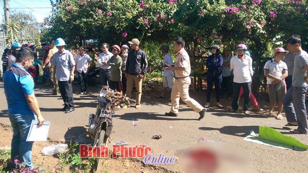 Bình Phước: Truy tìm nam thanh niên đi xe 3 bánh bỏ chạy sau tai nạn chết người