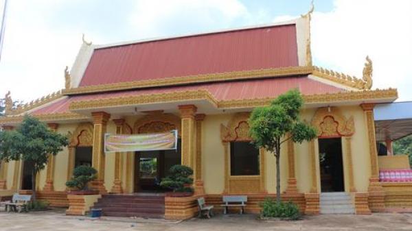 Bình Phước: Chùa Seryvonsa phát huy bản sắc văn hóa dân tộc Khmer