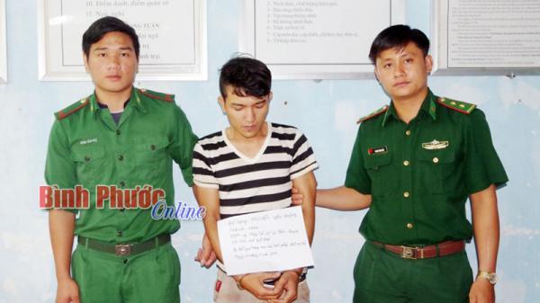 Bình Phước: Mua bán ma túy đá bị bắt