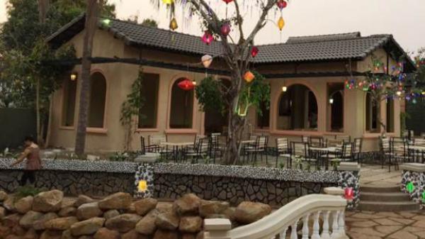 Hút hồn vào không gian sân vườn sang trọng tại quán café Rose, Bình Phước