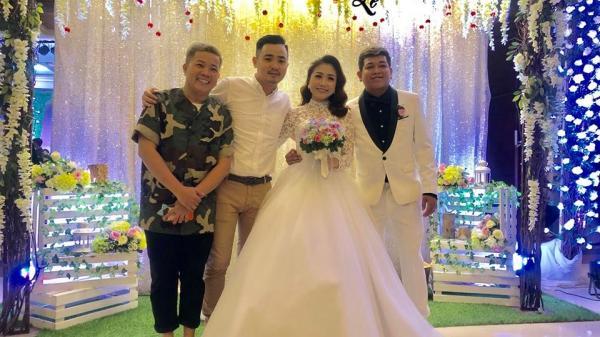 Dàn sao khủng nô nức dự đám cưới của bạn diễn Trường Giang