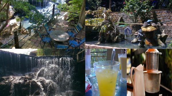 Thưởng thức cà phê trong không gian lạc giữa núi rừng, hãy đến quán Thượng Nguồn ở Bình Phước