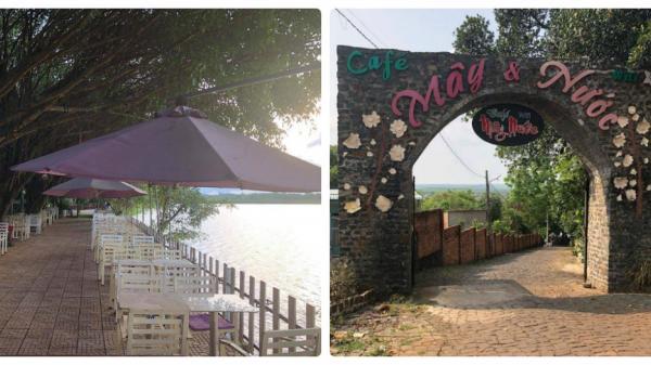 Mây Và Nước Cafe - Nơi có không gian sân vườn siêu relax ở Bình Phước