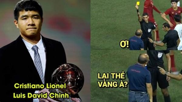 Ảnh chế Đức Chinh không còn 'đen' trong trận thắng 4-0 U22 Campuchia