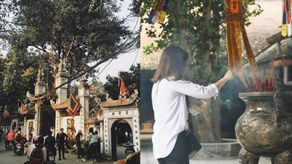 """Lặn lội từ Sài Gòn ra Hà Nội đi chùa Hà cầu duyên, cô gái không ngờ sau 1 tuần đã có được """"crush"""""""