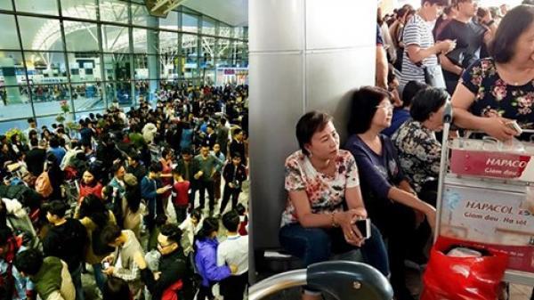 Sân bay và đường quốc lộ 'thất thủ' những ngày giáp Tết