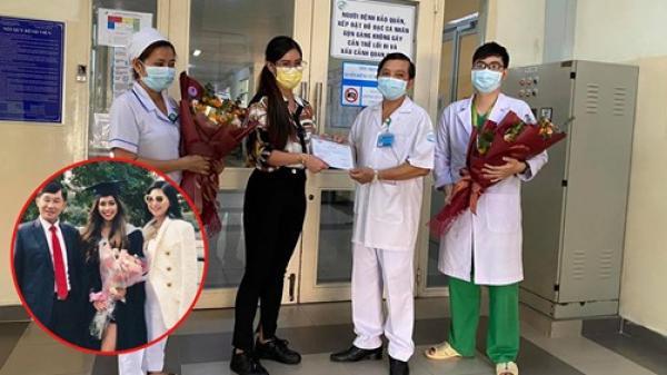 """Tiên Nguyễn 'BN32', con gái tỷ phú """"vua hàng hiệu"""" chính thức xuất viện, gửi lời cảm ơn đất nước và bác sĩ"""