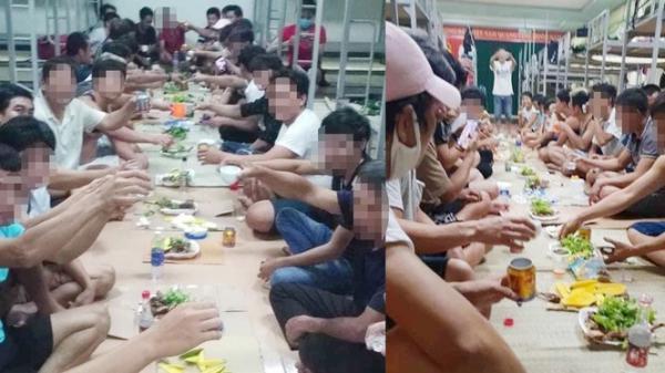 30 người tổ chức ăn nhậu trong khu... cách ly