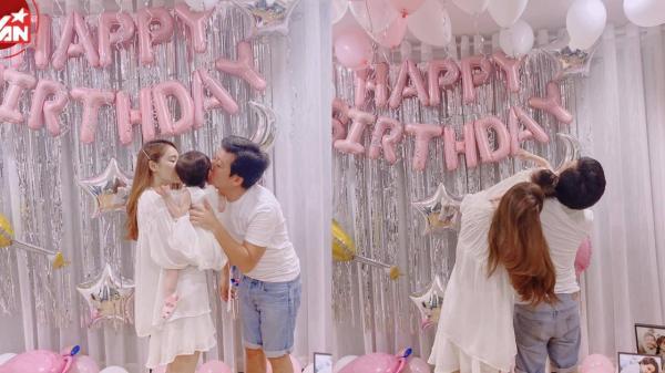 Trường Giang bất ngờ khoe sự xuất hiện của con gái cưng dịp sinh nhật