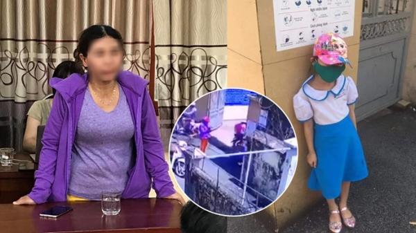 Vụ HS lớp 1 bị phê bình vì đến trường sớm: Xuất hiện clip nghi mẹ dàn cảnh cho con đứng trước cổng trường chụp ảnh