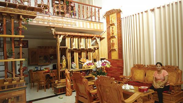 Bình Thuận: Lại Phú Hùng và những căn phòng gỗ sang trọng