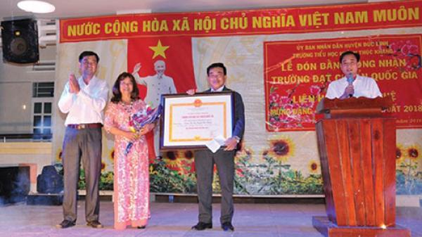 Bình Thuận: Trường tiểu học Huỳnh Thúc Kháng nỗ lực đạt chuẩn quốc gia