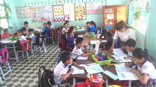 Bình Thuận: Trường tiểu học Sông Phan 2 lấy học sinh làm trung tâm giảng dạy