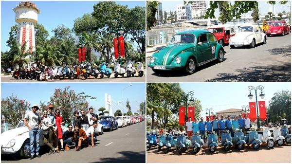 Ngày hội xe cổ tại thành phố Phan Thiết