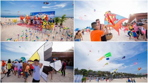 Rực rỡ lễ hội diều trên biển Mũi Né - Phan Thiết