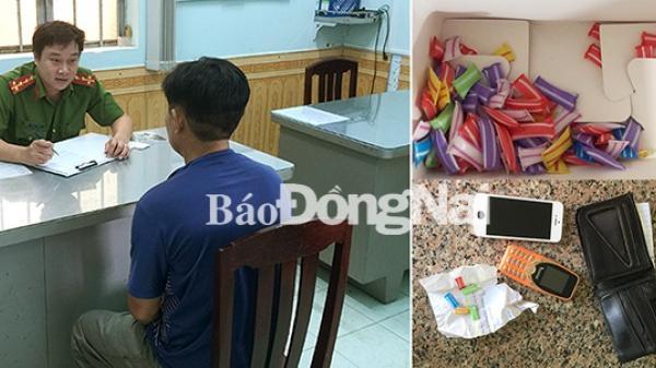 TP.Biên Hòa bắt 1 vụ tàng trữ m.a t.úy