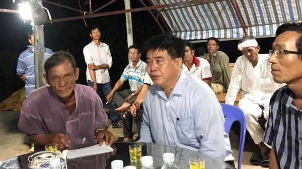 Lãnh đạo Cục Đường sắt thăm gia đình nạn nhân vụ ô tô đ.âm tàu hỏa ở Bình Thuận