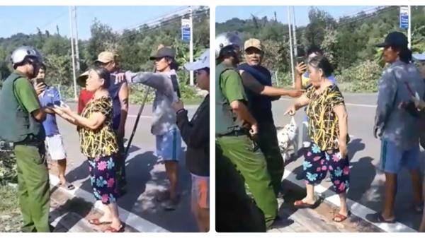 """Sự thật đằng sau clip tố công an rút s.úng """"bắn người"""" ở Bình Thuận"""