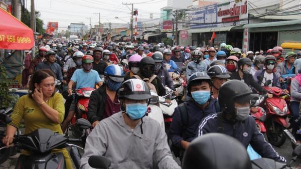 TP. Hồ Chí Minh giao thông quá tải sau nghỉ lễ Quốc khánh