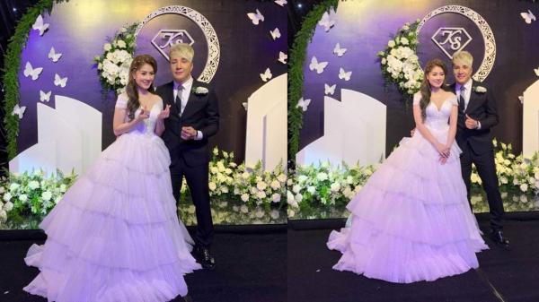 Lâm Chấn Khang chính thức tổ chức đám cưới như trong truyện cổ tích với cô lai Hàn sau hơn 17 năm yêu nhau