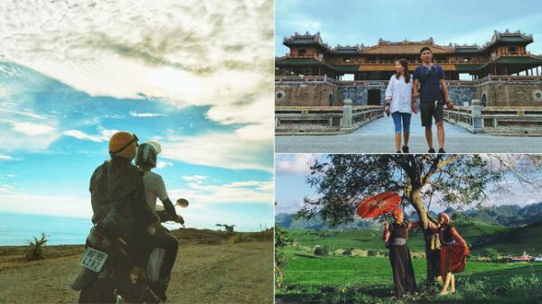 Vợ chồng 'rủ' nhau nghỉ việc, cùng nhau đi hết Việt Nam trong vòng 40 ngày