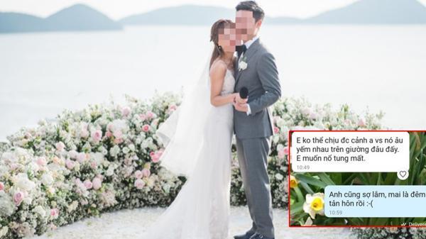"""Cô dâu """"cứng"""" nhất năm: Dỡ rạp hủy hôn, đốt ảnh cưới 100 triệu ngay trong phút mốt vì phát hiện tin nhắn 'anh cũng sợ lắm, mai là đêm tân hôn rồi'"""