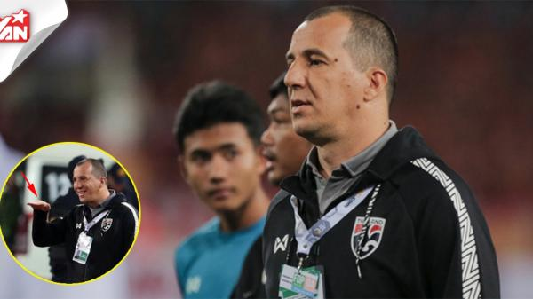 Trợ lý HLV Thái Lan: Cả đội đều có phản ứng nhưng chỉ trích mỗi tôi