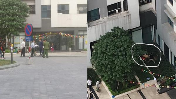 Thương tâm sáng mùng 1, bé gái 11 tuổi rơi từ tầng 39 chung cư ở Hà Nội xuống đất