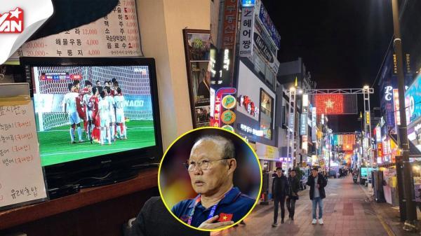 Việt Nam - Campuchia: Hàn Quốc treo cờ Việt Nam trên nguyên dãy phố