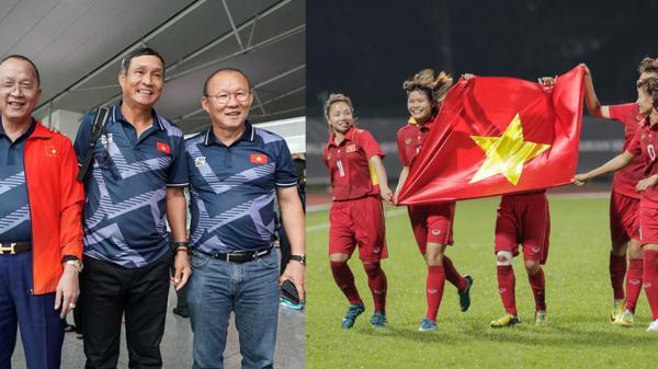 Thầy Park tiếp lửa cho tuyển nữ VN trong trận chung kết với Thái Lan