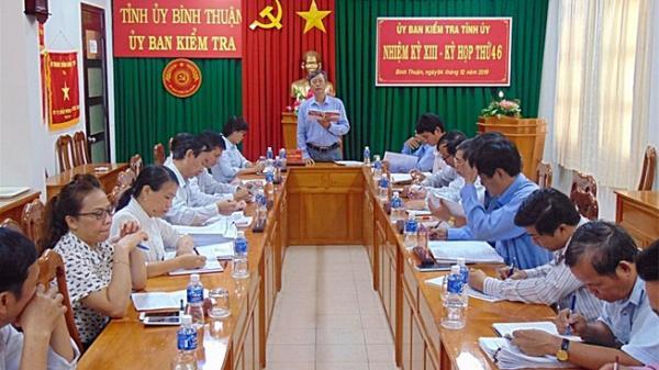 UBKT kết luận cụ thể sai phạm các lãnh đạo TP Phan Thiết