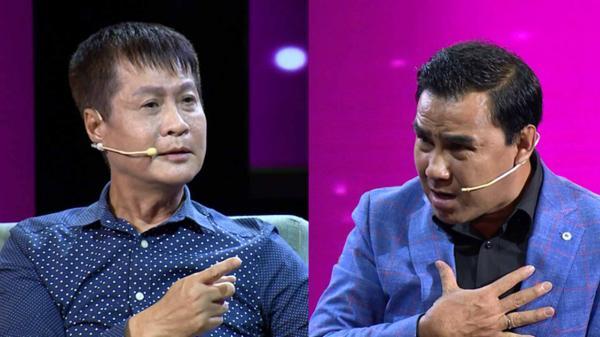 Quyền Linh tức giận tranh cãi 'đỏ mặt tía tai' ngay trên sóng truyền hình khi Lê Hoàng khẳng định 'ngoại tình rất hấp dẫn'