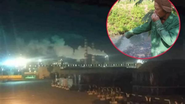 Bình Thuận: Nhà máy thép bị người dân phản ánh mùi khét bốc ra gây ảnh hưởng cuộc sống