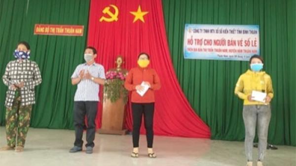 Bình Thuận: Đã có 2.577 người bán lẻ vé số được nhận hỗ trợ