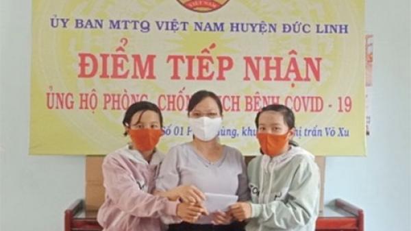 Bình Thuận: 2 học sinh đập heo đất ủng hộ tiền để chống dịch