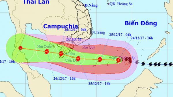Người dân Cà Mau chủ quan trước mối đe dọa của bão số 16 - Tembin
