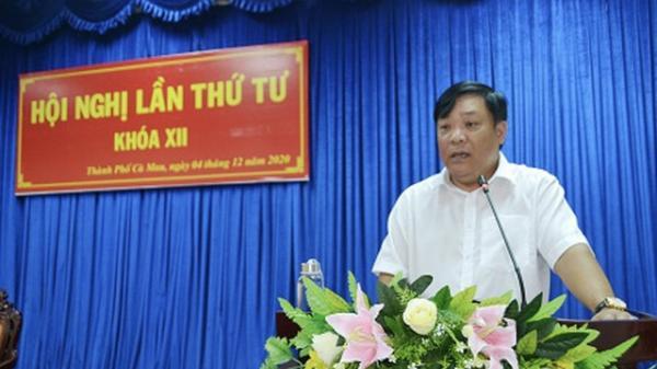 Bí thư Thành uỷ Cà Mau giữ chức Phó bí thư Tỉnh uỷ Cà Mau