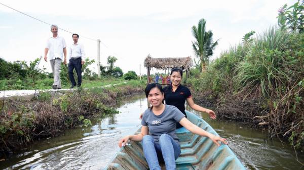 Xây dựng và phát triển du lịch vườn ở quê hương đất Mũi